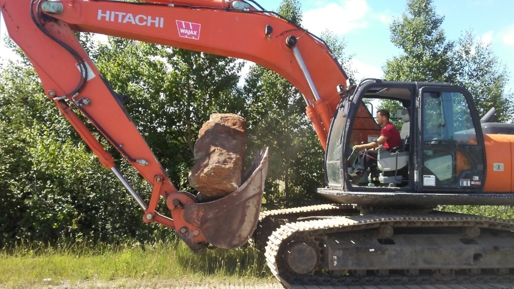Moving the top rock - 3T of Virginite from NL