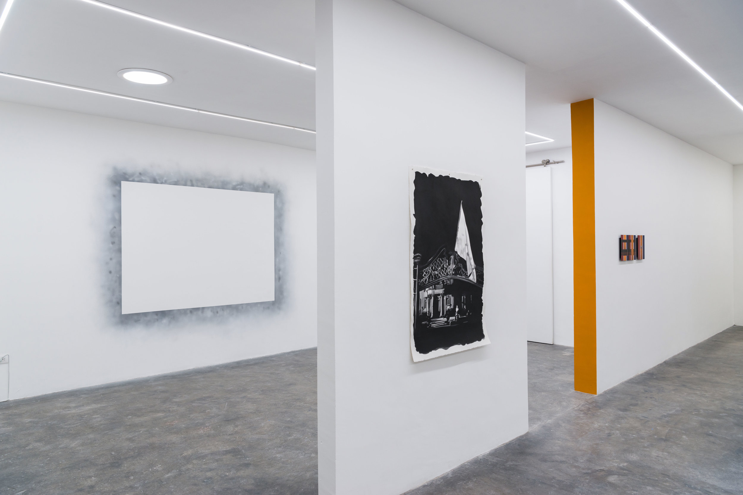 Installation view from  Twice Told Tales , 2018.