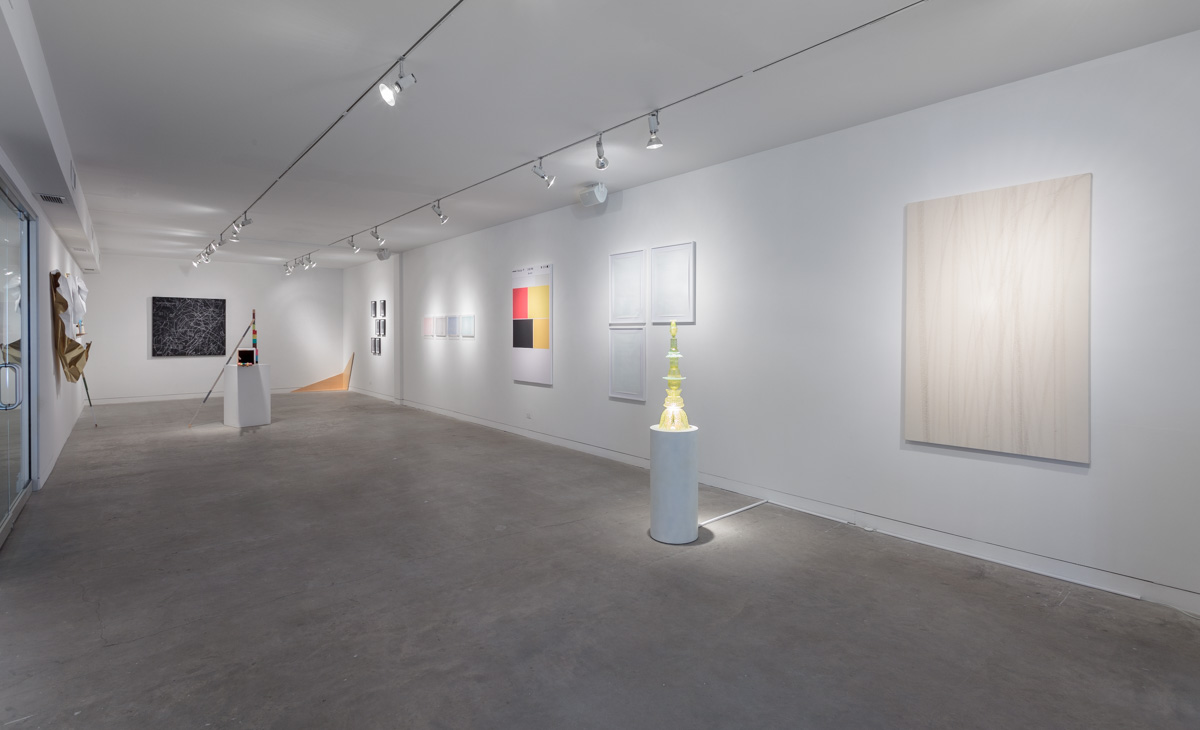 Installation view from  A False Horizon: Art from Latin America,  2015.