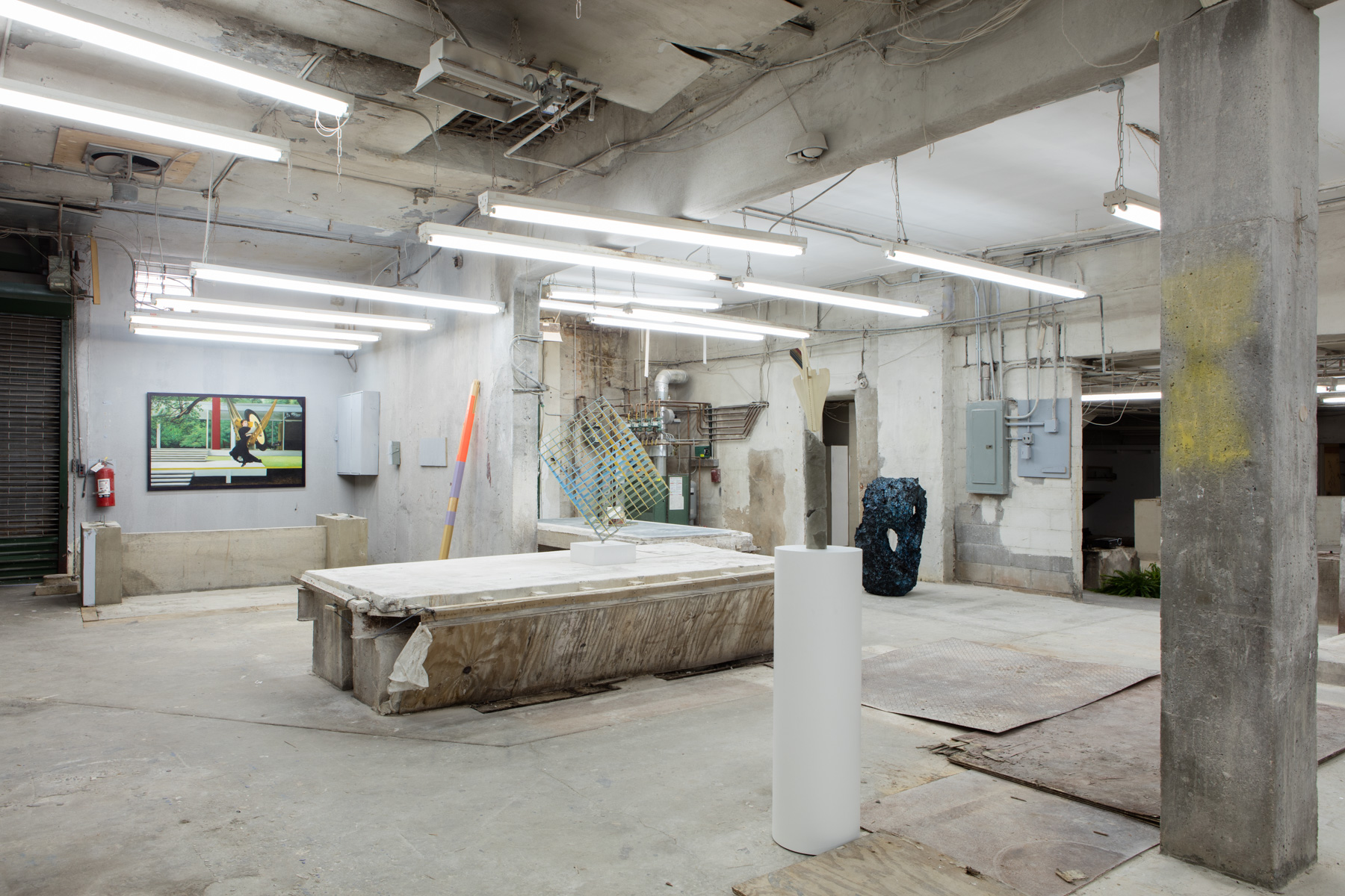 Installation view from  Paradise Syndrome, 2015.