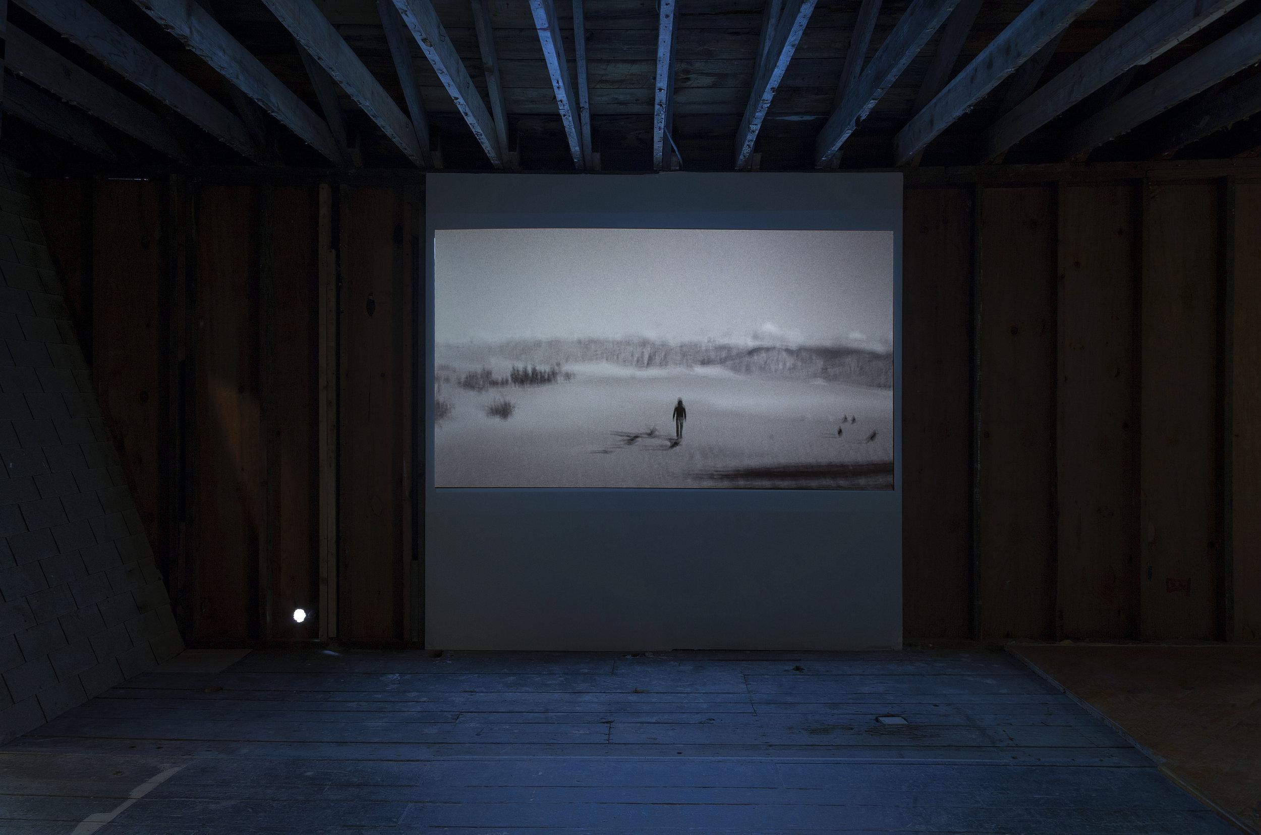 "Gonzalo Lebrija,   Death Valley,  2009. Video, 3' 08""."