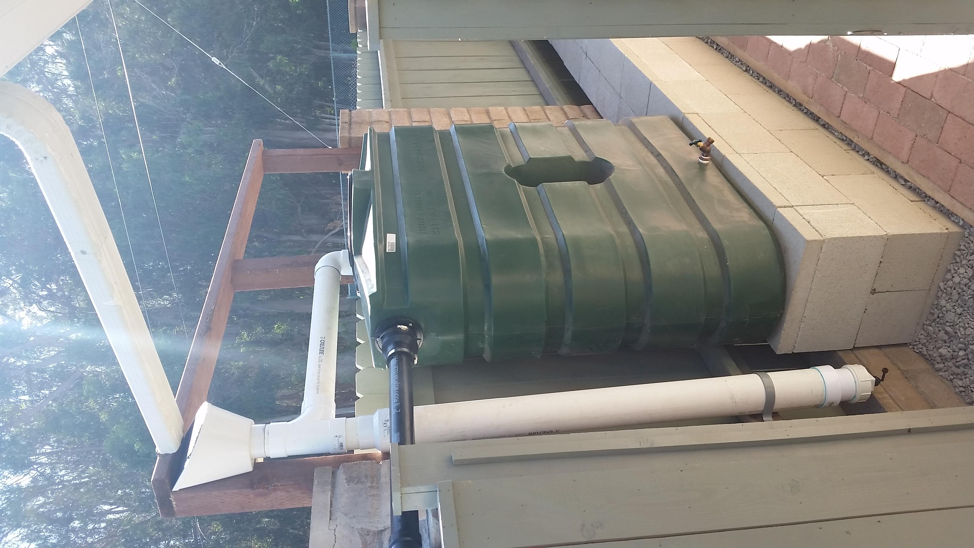 130 Gallon Slimline Tank