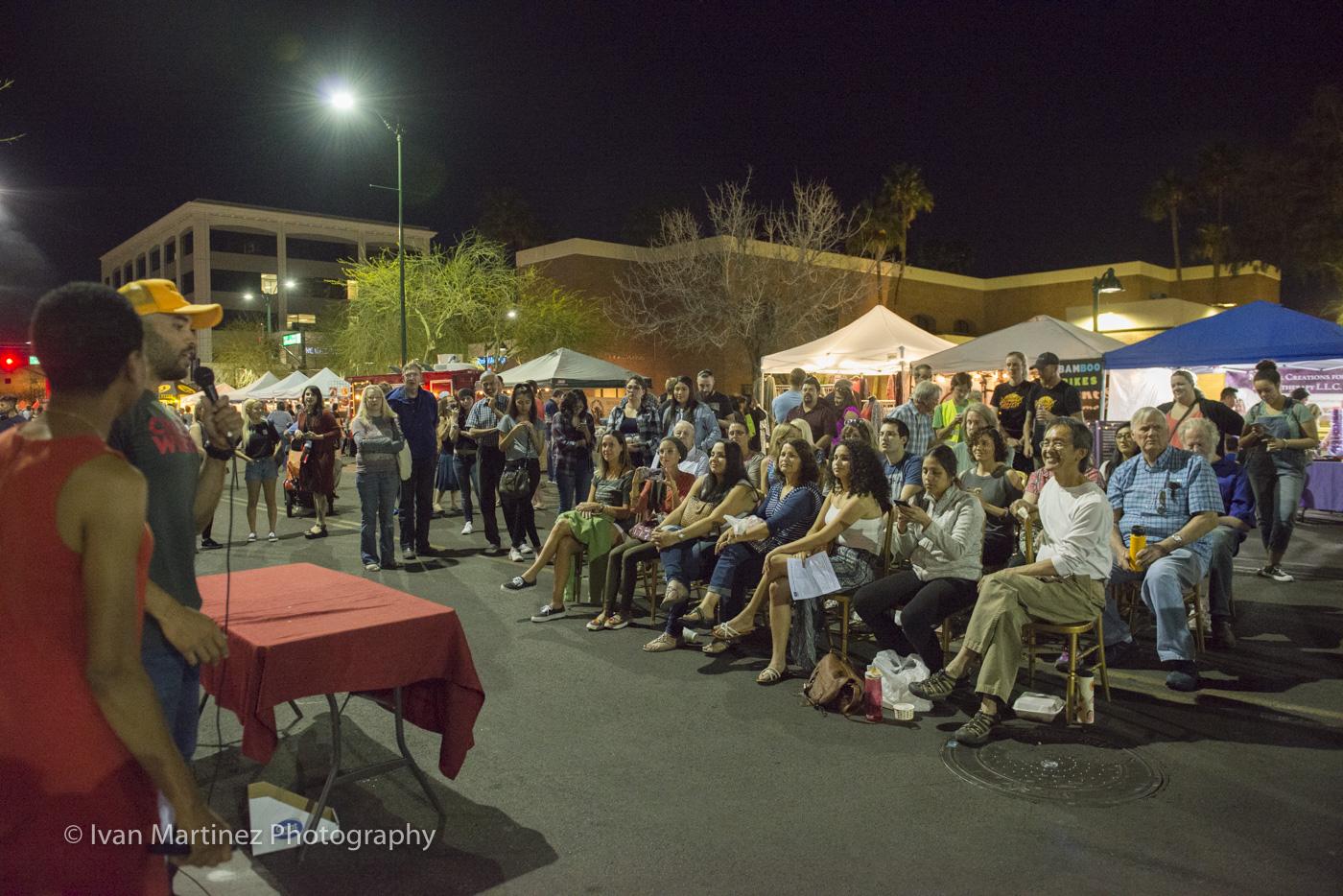 Zen Nights Downtown Mesa. Photo by Ivan Martinez Photography.