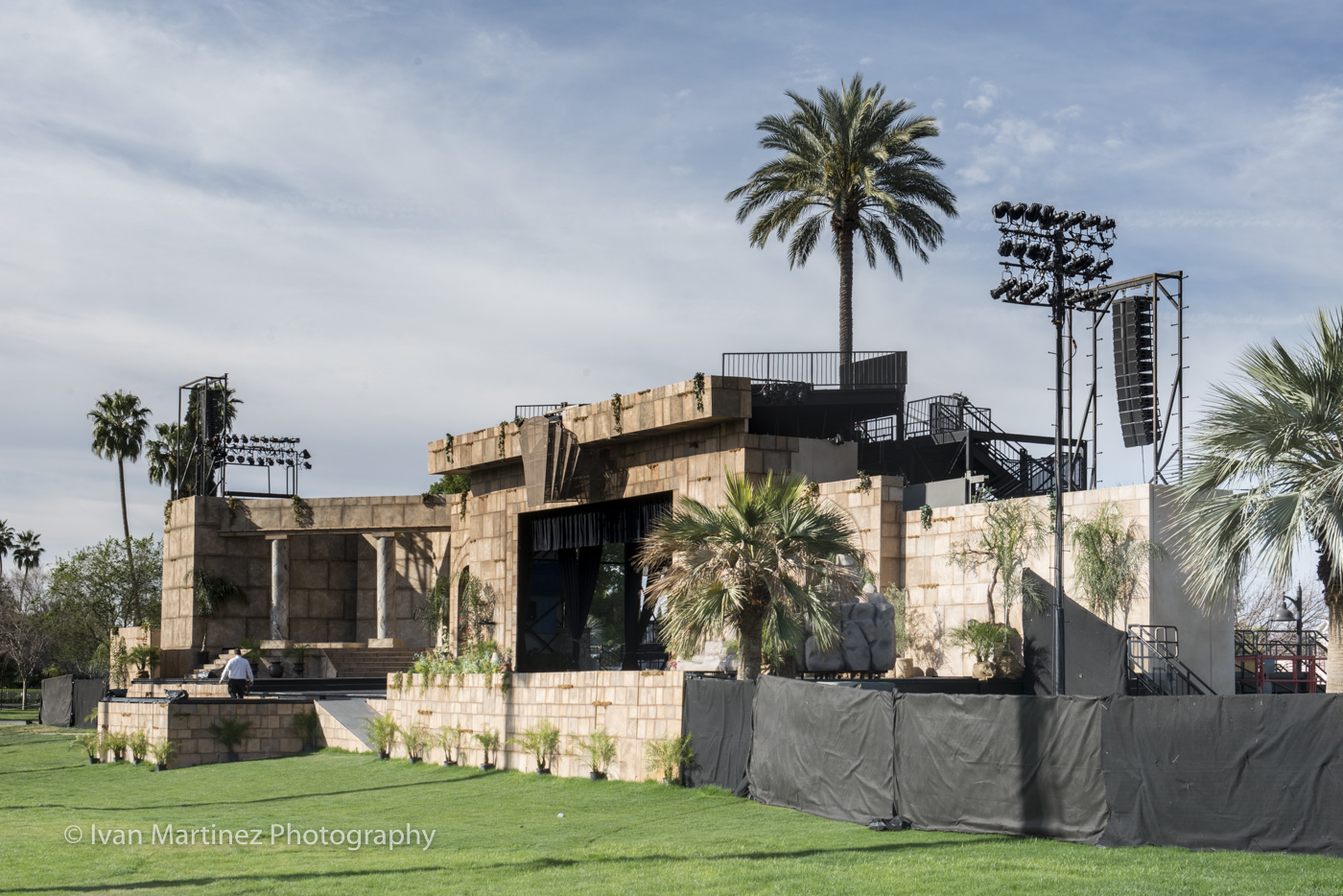 Mesa Easter Pageant at Mesa LDS Temple. Photo by Ivan Martinez Photography.