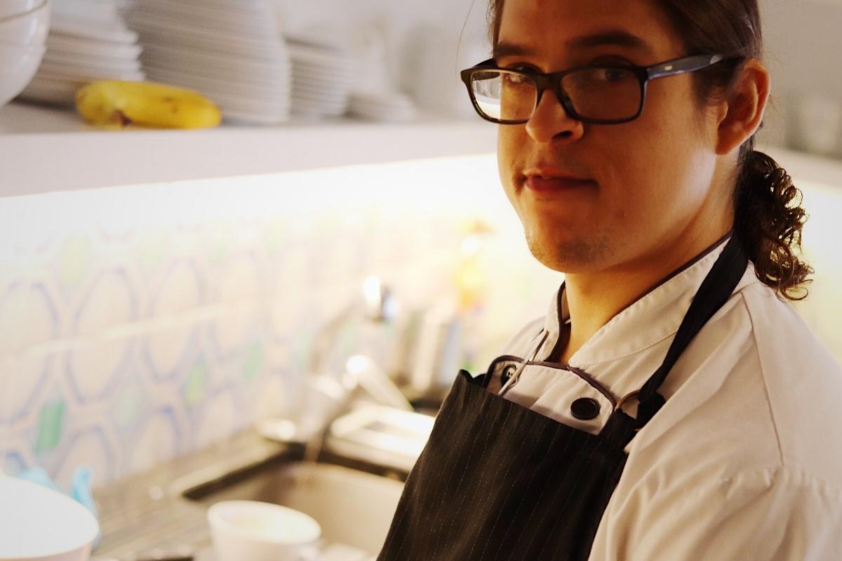 Piers Dawson Sous Chef, Luis Martinez