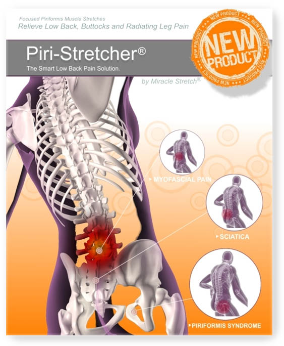 Sciatica and Piriformis Relief - Piri-Stretcher® for Home Use