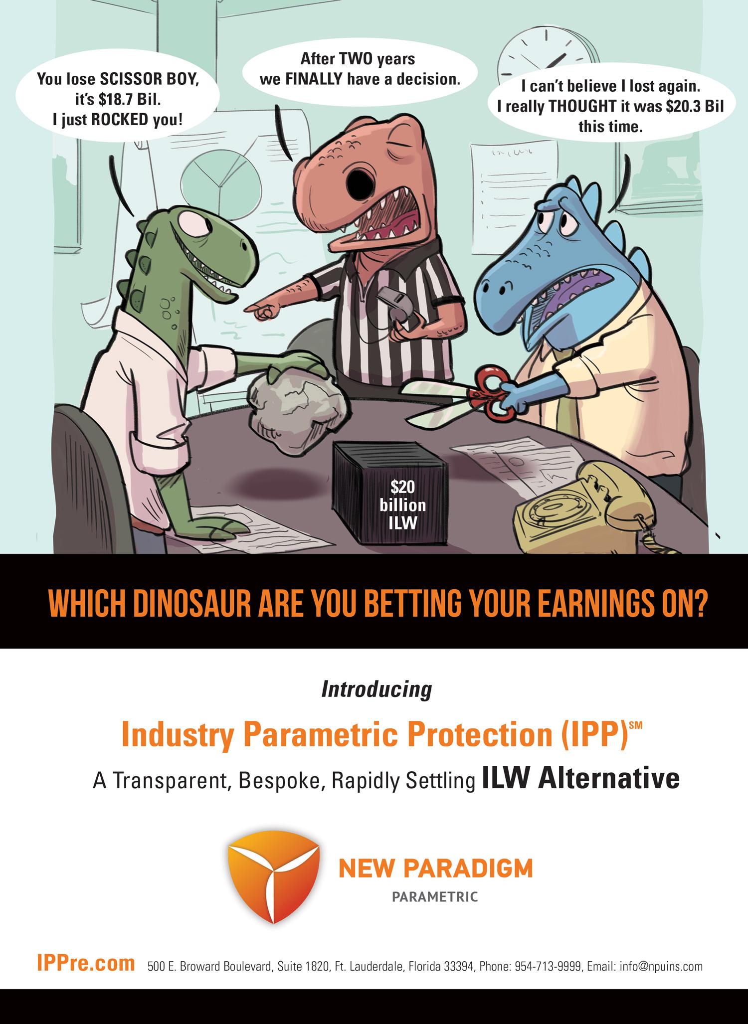 Understanding New Paradigm Parametric Underwriters