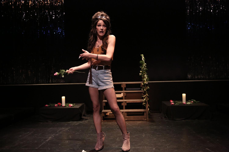 Eve Lindley performs as Sylvia Rivera