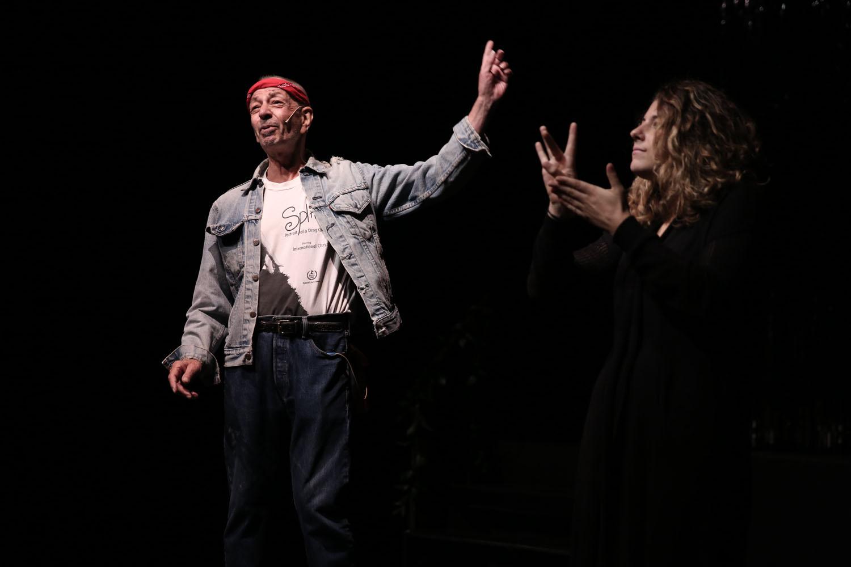 Jimmy Camicia and ASL interpreter
