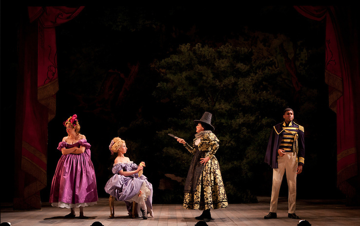 Into The Woods , Baltimore Center Stage/Westport Country Playhouse photo: Richard Anderson