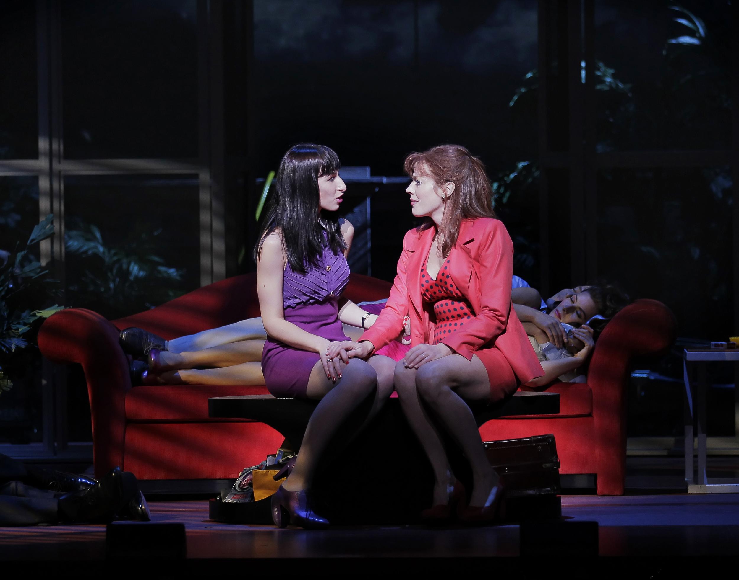 Women on the Verge of a Nervous Breakdown , Broadway photo by Paul Kolnik