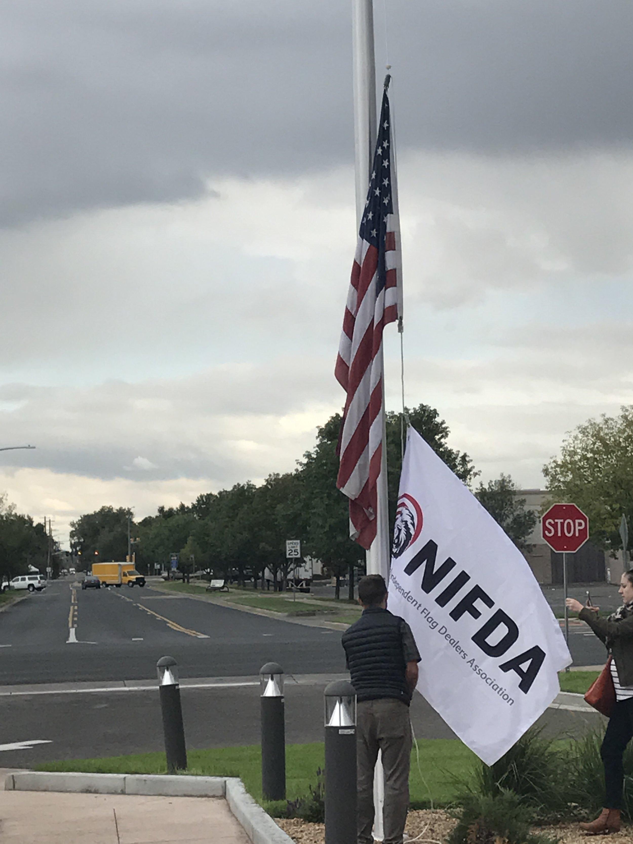 2017 NIFDA Flag Raising.JPG