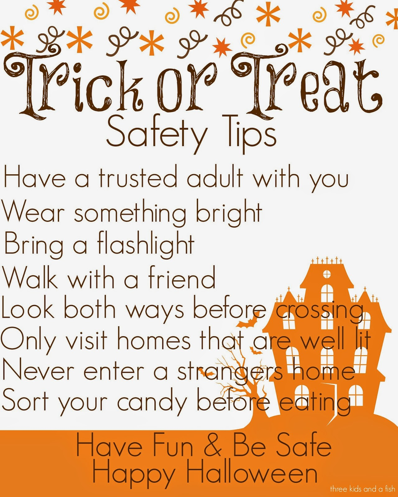 Additional safety tips to use this weekend!