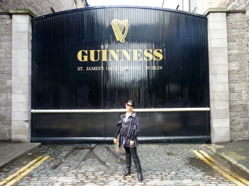 I'm sure everyone who has ever visited Dublin has some version of this photo in their archives.