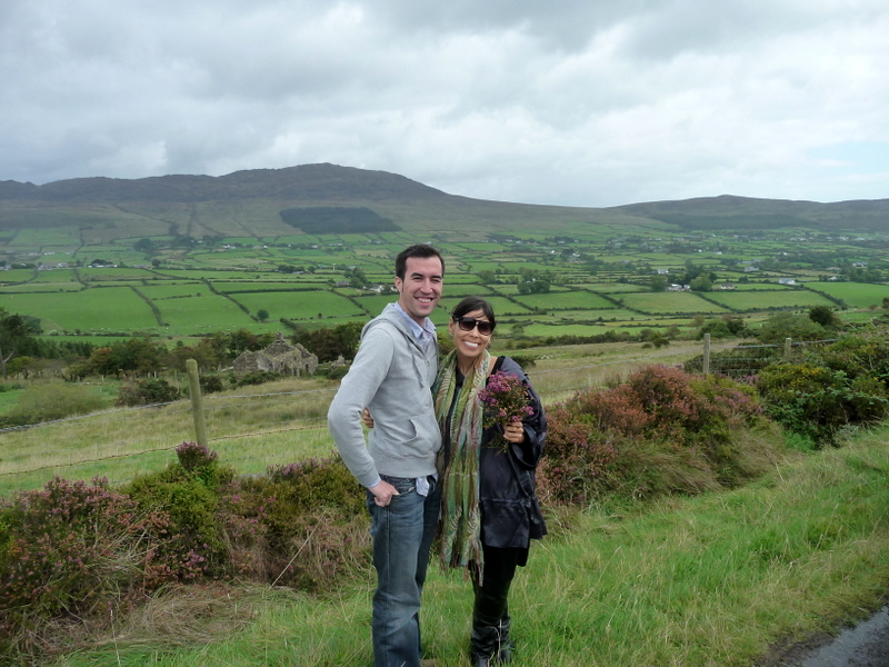 Look at all that green. They don't call it the Emerald Isle for nothing.