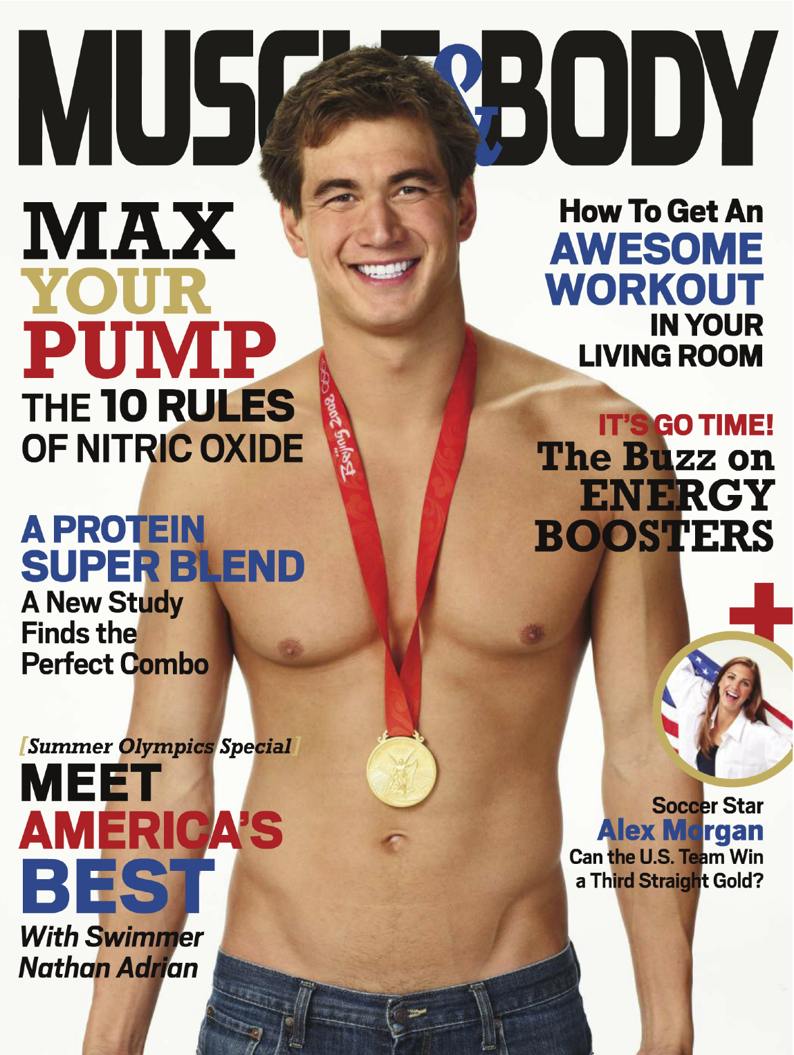 MUSCLE & BODY • JULY 2012