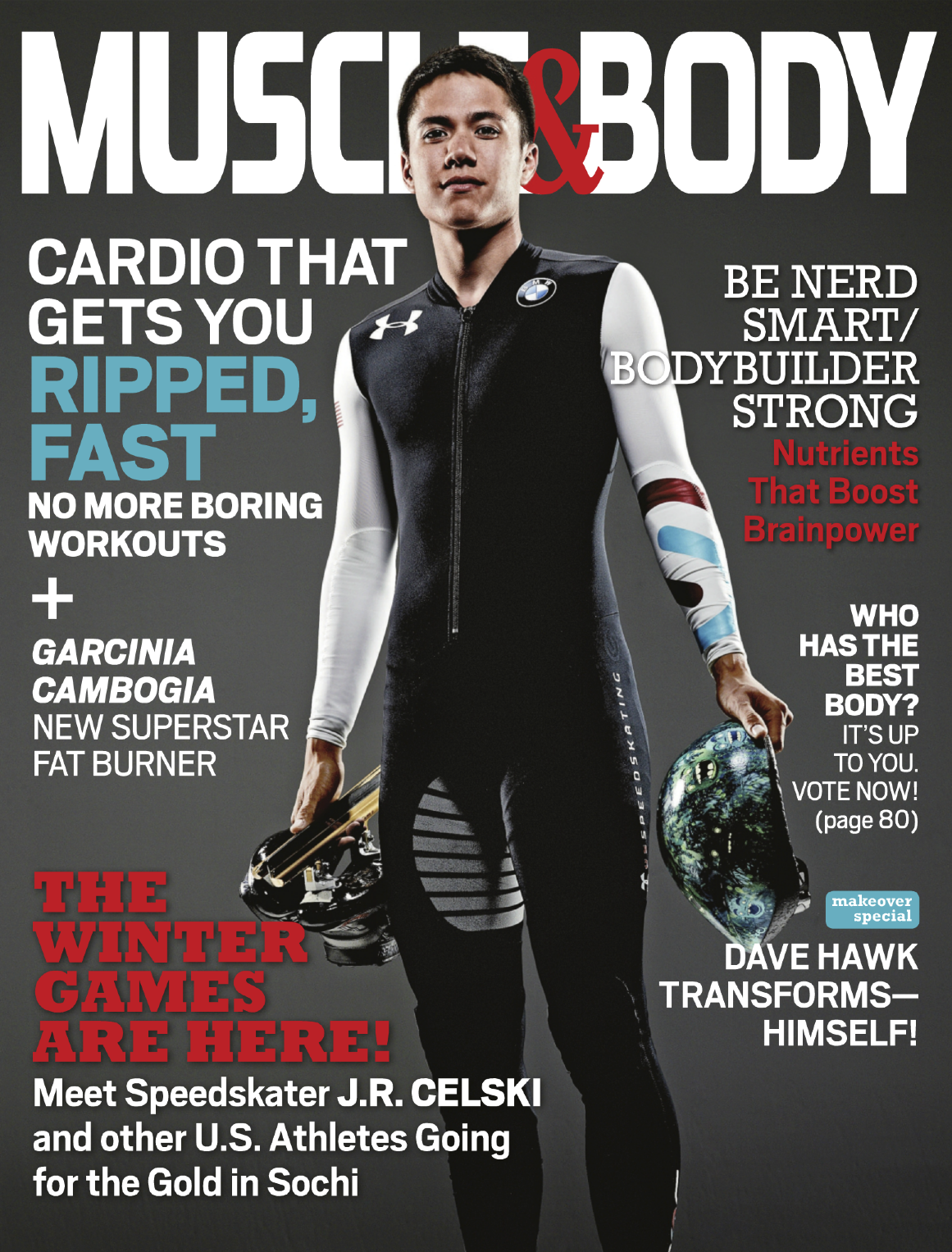 MUSCLE & BODY • FEB. 2014
