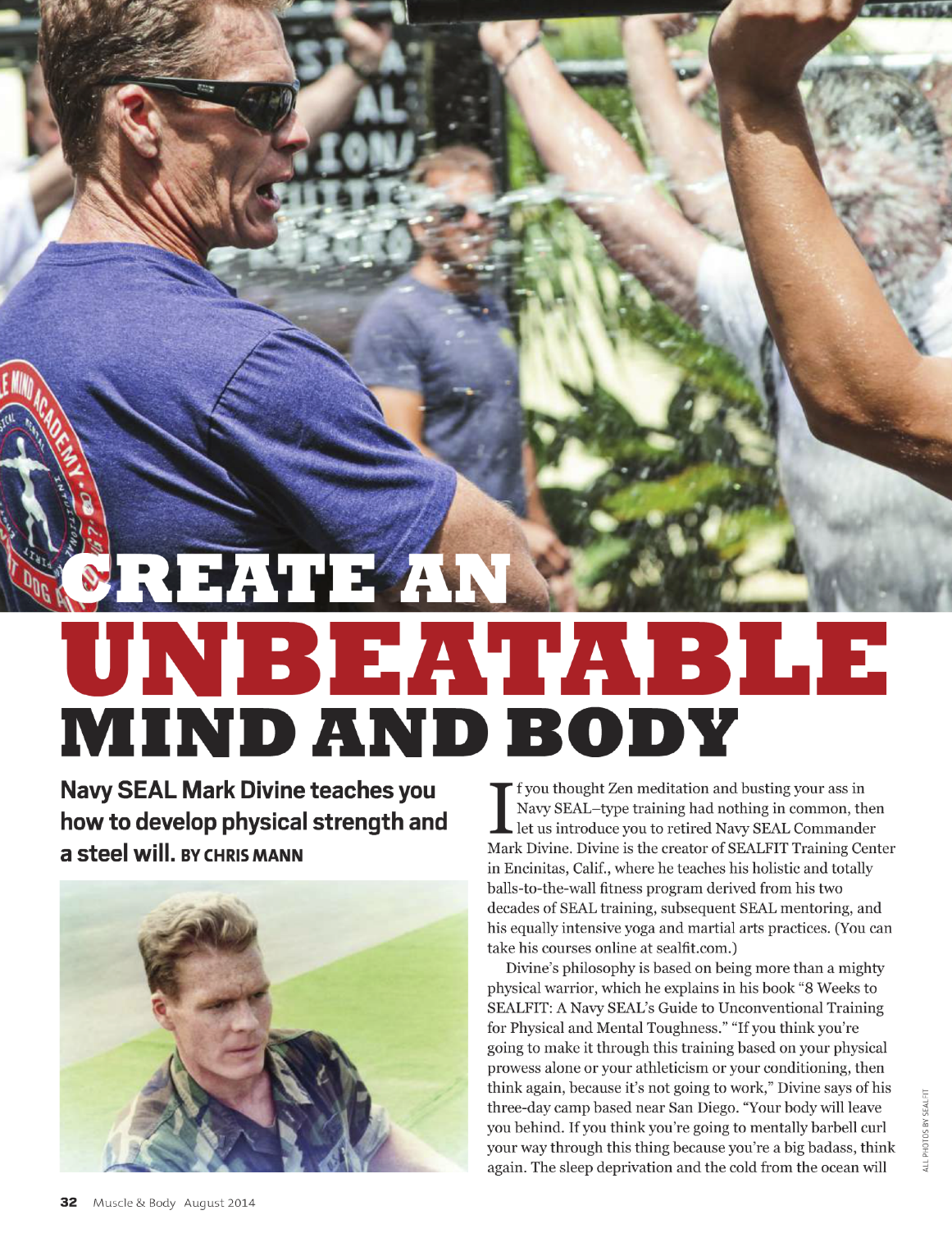 MUSCLE & BODY • AUG. 2014