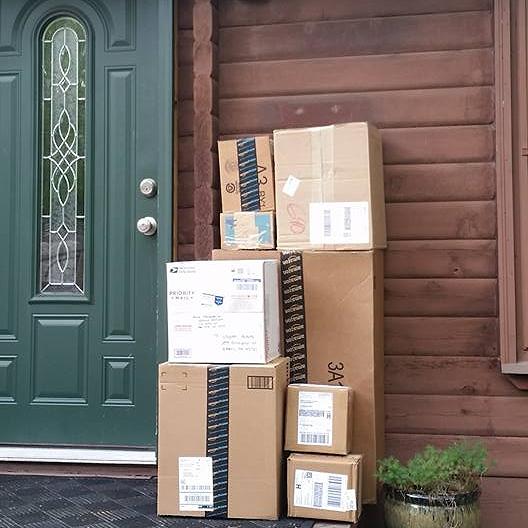 First shipment of equipment arrives