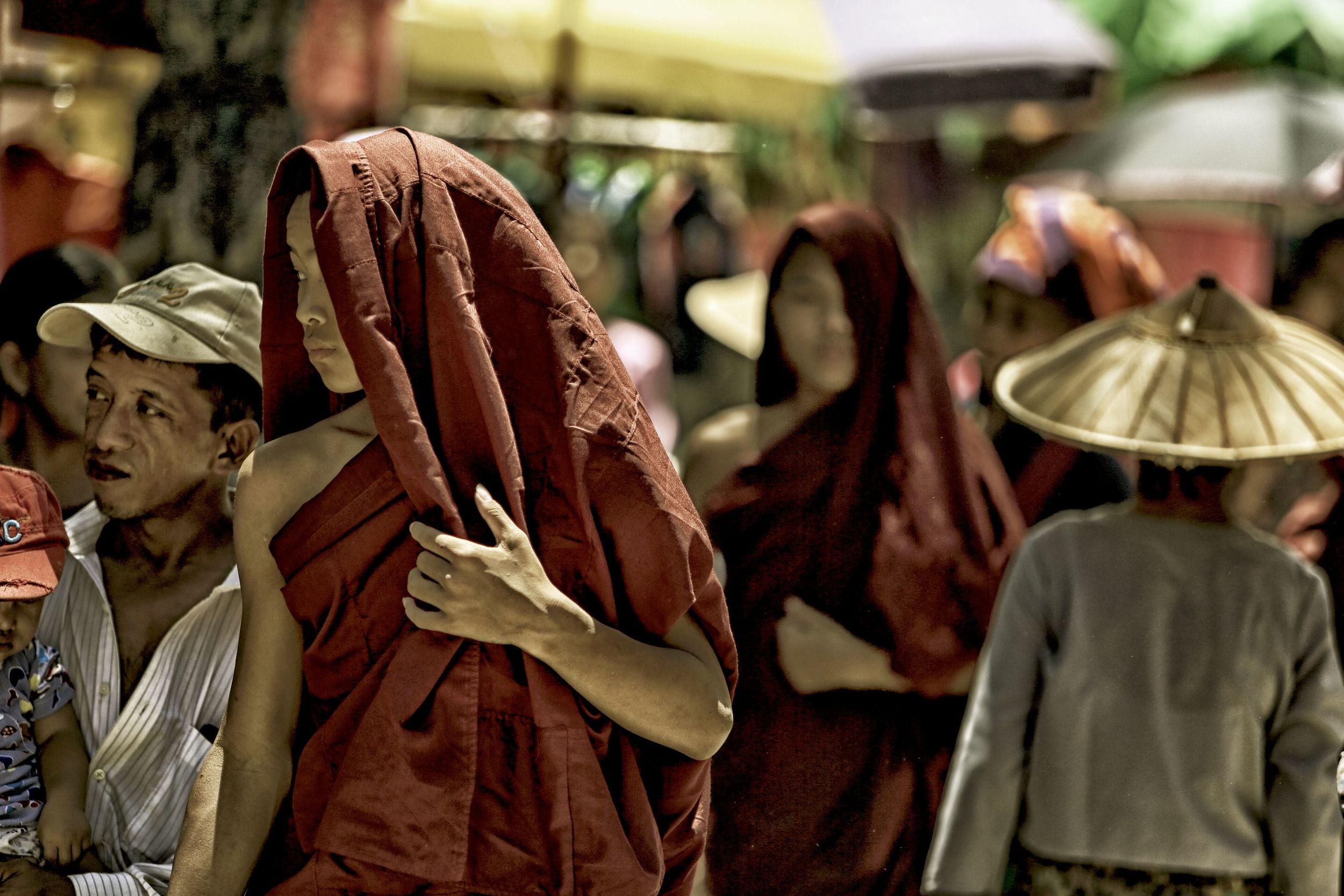 Monk at Market 1.JPG