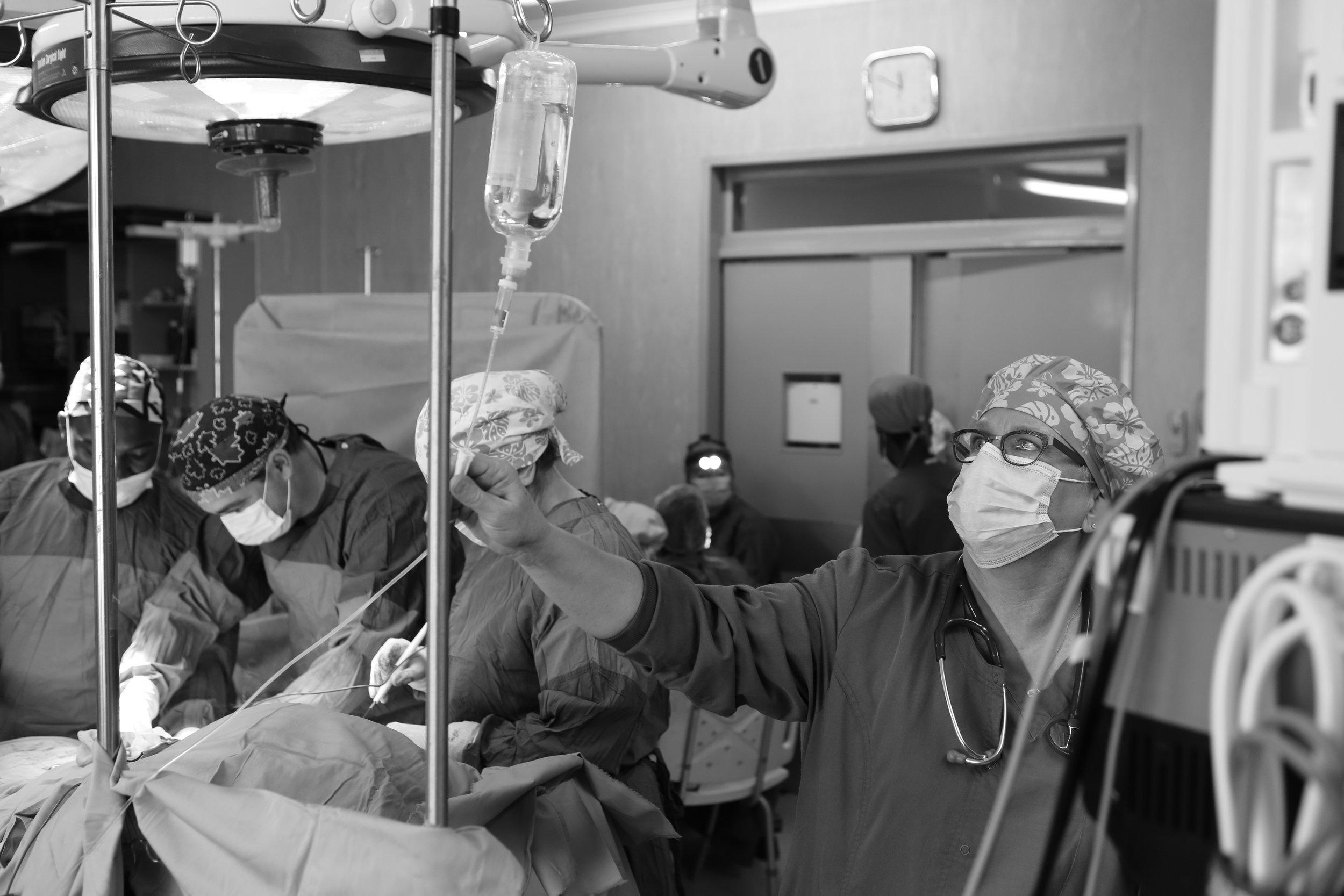 Simultaneous surgeries