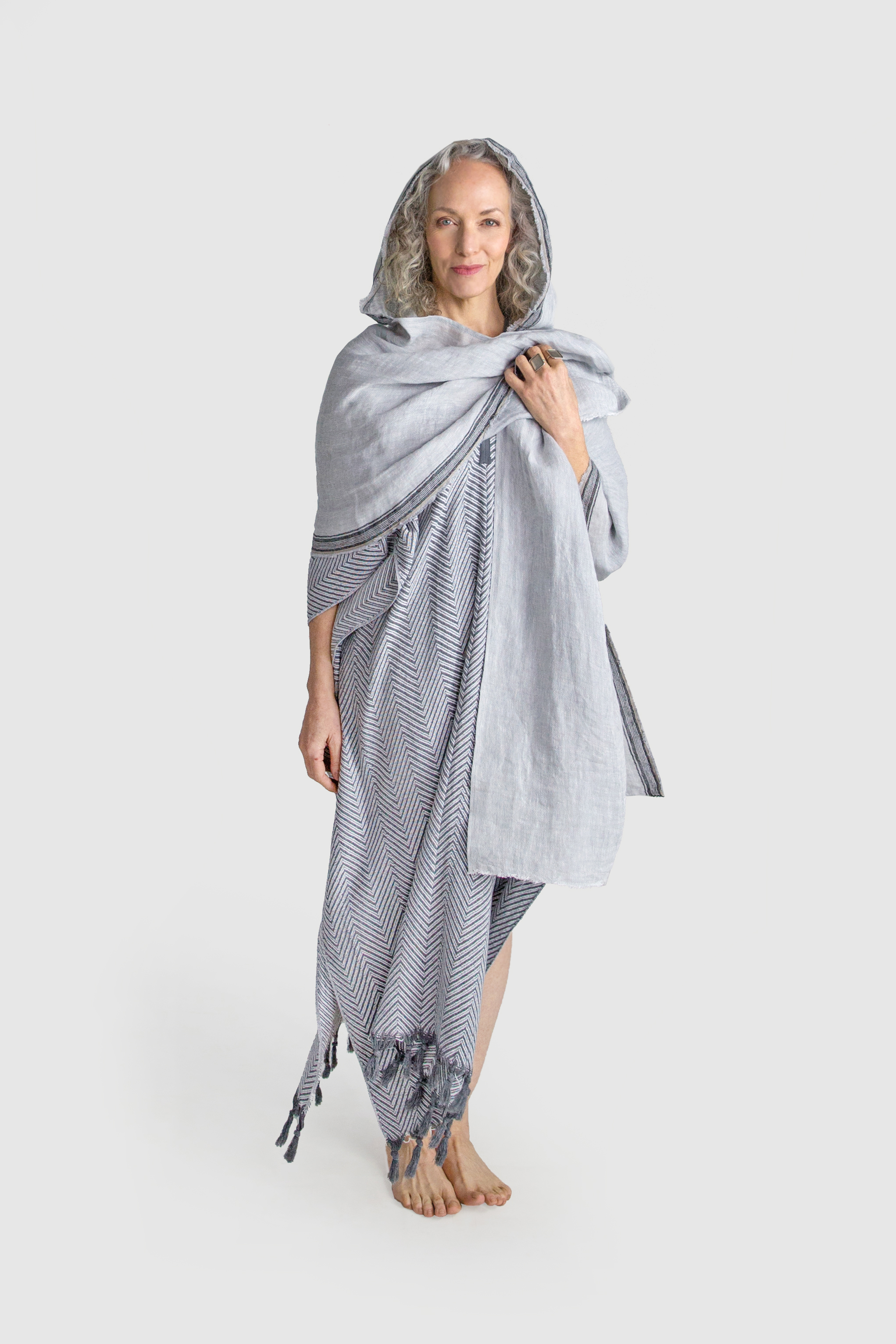 Copy of HOODED SCARF