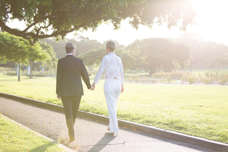 same sex couple wedding photo
