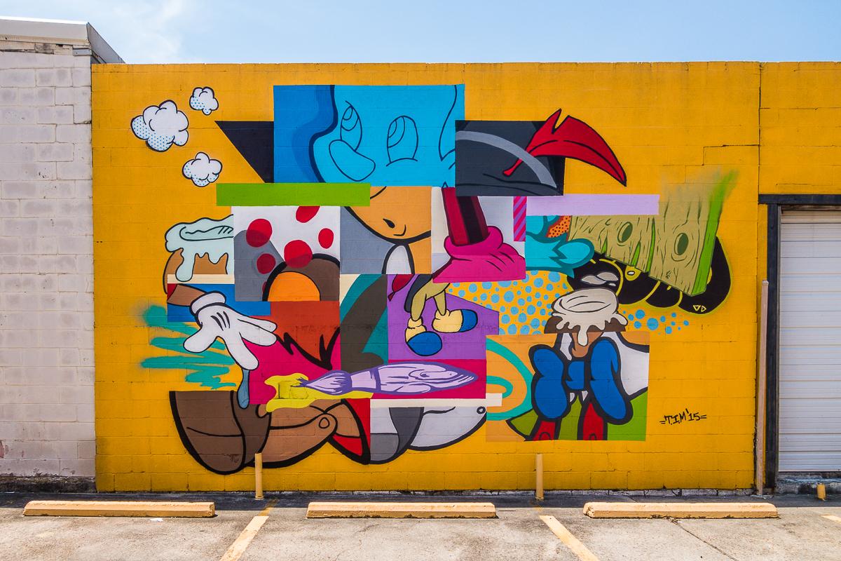 Mural at David Art Center in Metairie