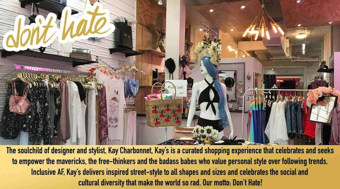 Kay's slogan and one of the best mission statements I've ever seen in retail. #DontHate