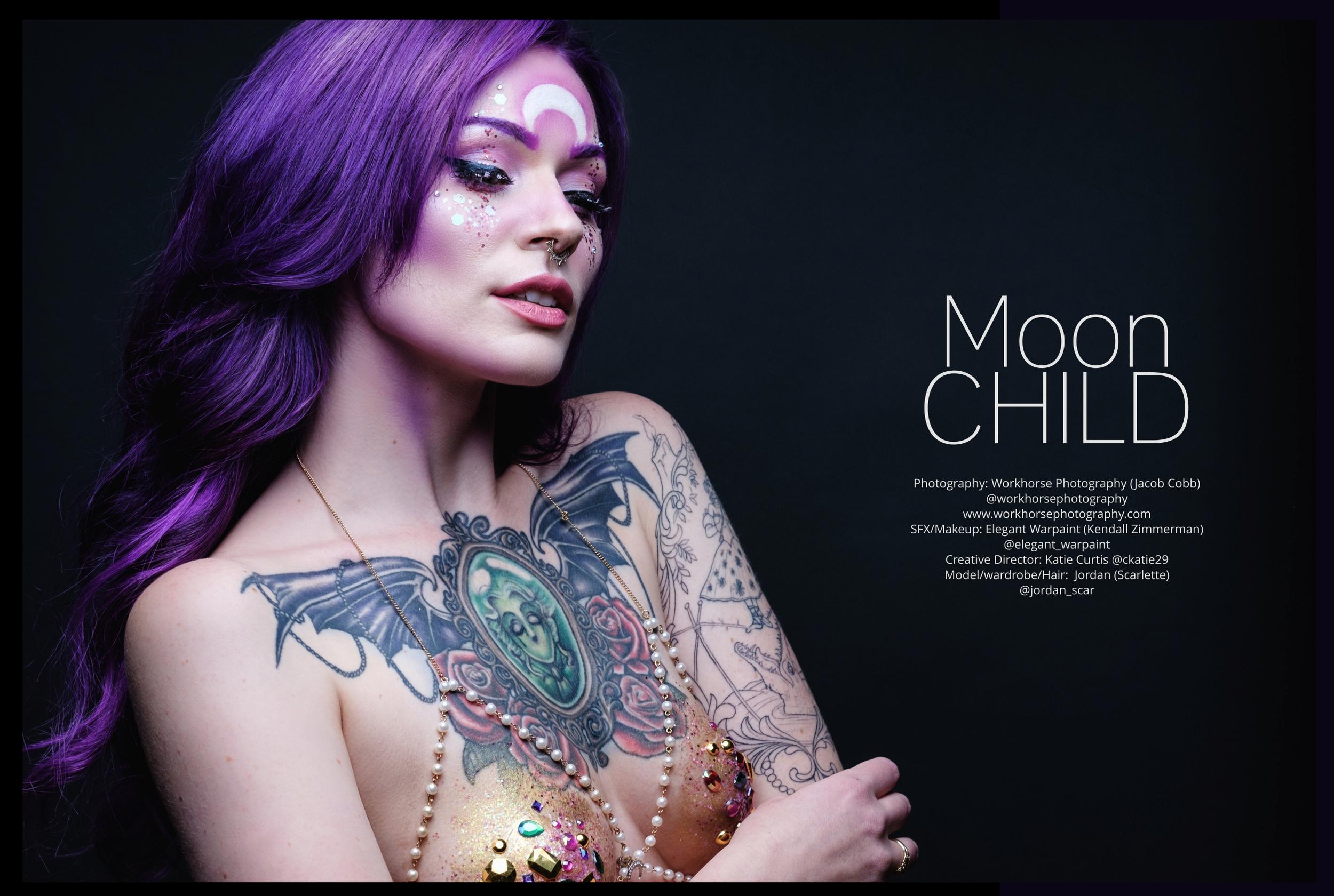 Moon Child-IMIRAGEmagazine #118 -