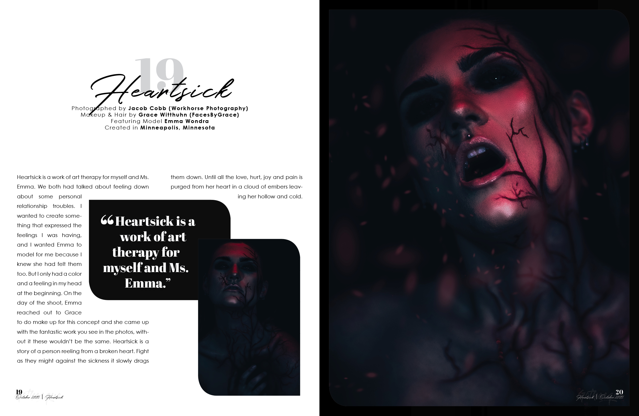 Gothesque Magazine Issue #64 Vol.3-Heartsick -