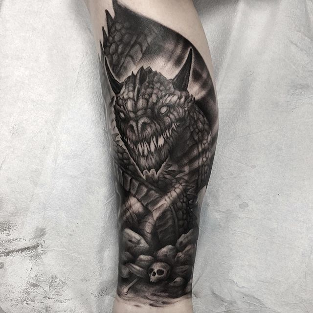 Addition to a leg sleeve I'm in progress with. #wip