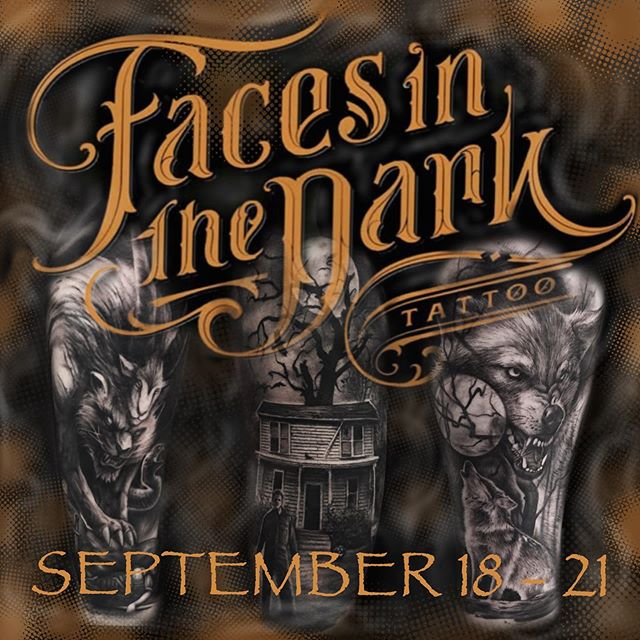 I will be at the one and only @facesinthedarktattoo September 18th - 20th if anyone wants to get something awesome. Hit me up my Texas folks. It's been a while so let's make it a fun one.