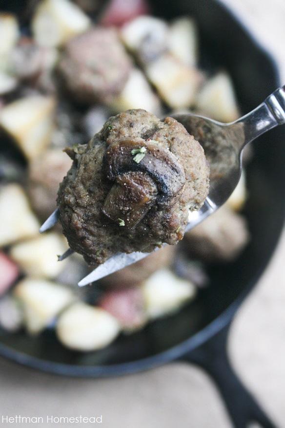 Garlic & Rosemary Meatballs