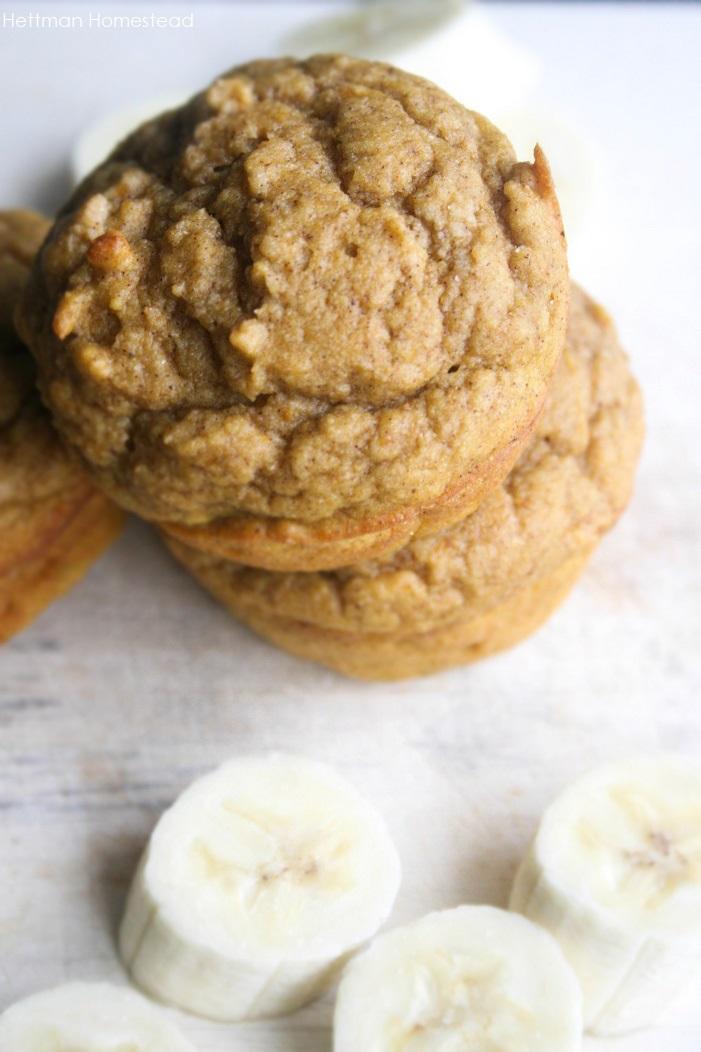 hettman homestead banana muffins