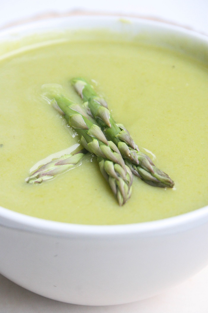 Prebiotic-Rich Asparagus Soup (Dairy Free)