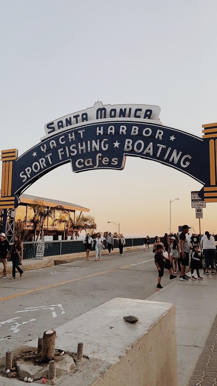 Sunset on the pier- Hettman Homestead