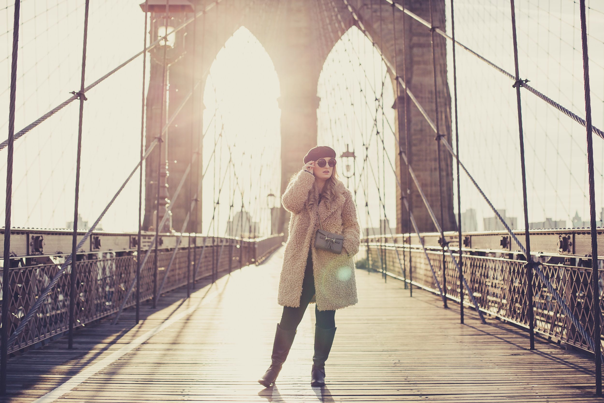 Brooklyn Bridge, NYC...What to Wear in New York City