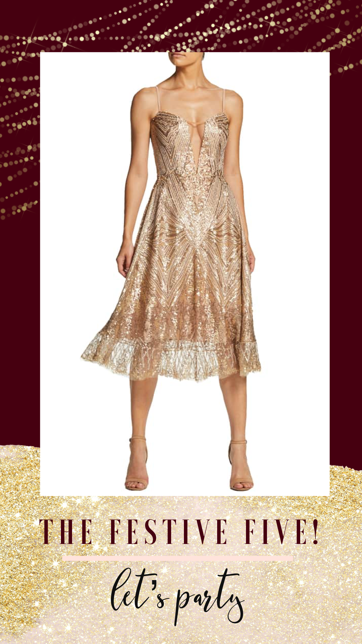 sequin gown, wedding guest dress, party dress, holiday dress, nye dress, Christmas dress