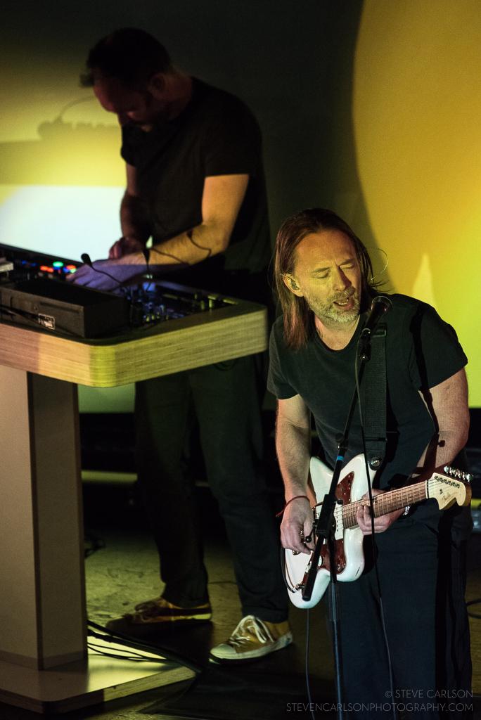 Thom Yorke and Nigel Godrich