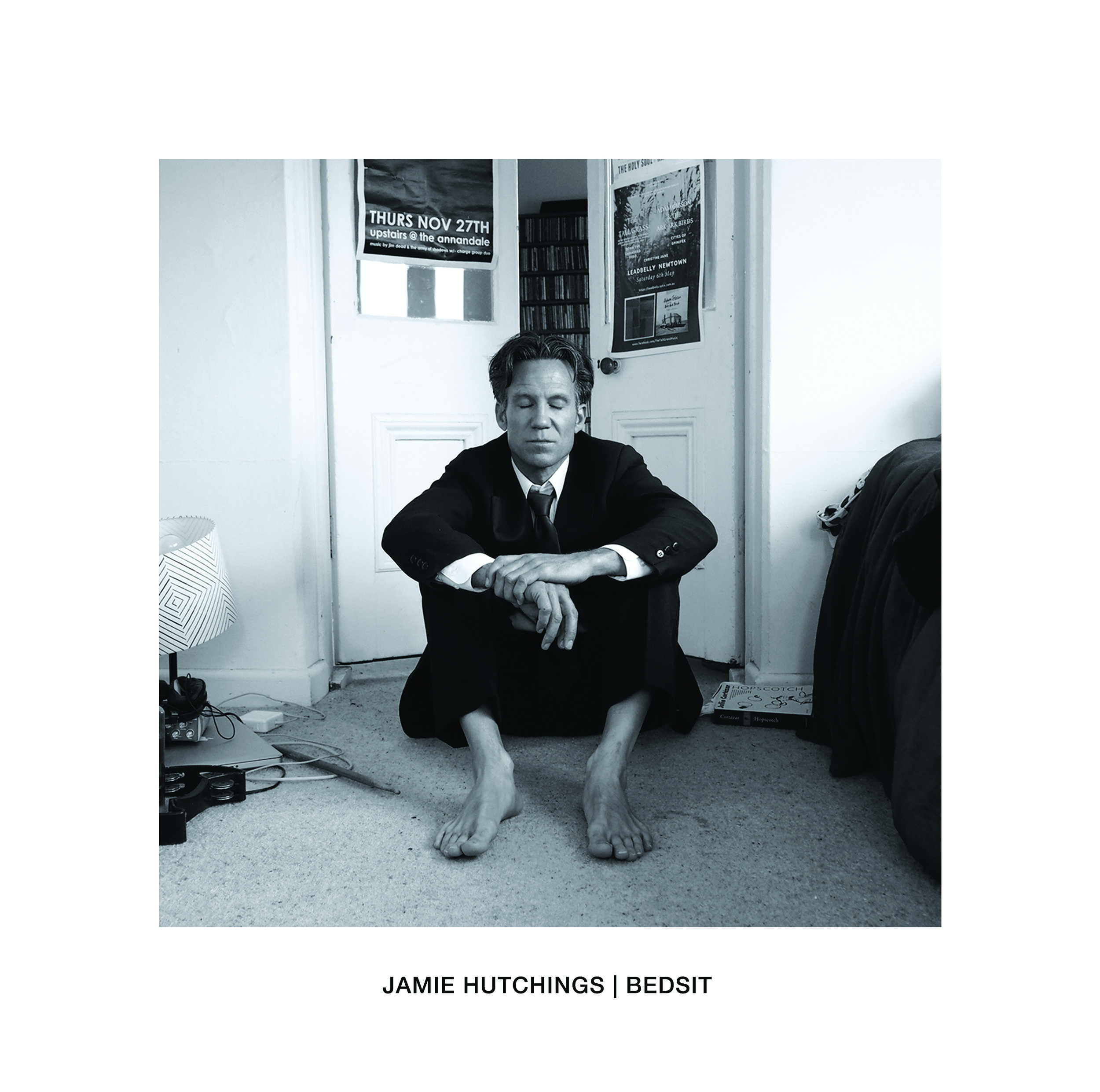 Cover photography and press photos for Australian artist Jamie Hutchings' upcoming album 'Bedsit'. www.jamiehutchings.com #photography
