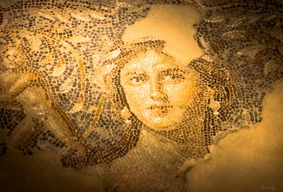 Mosaic Woman of Galilee' (Sephoris, Israel)