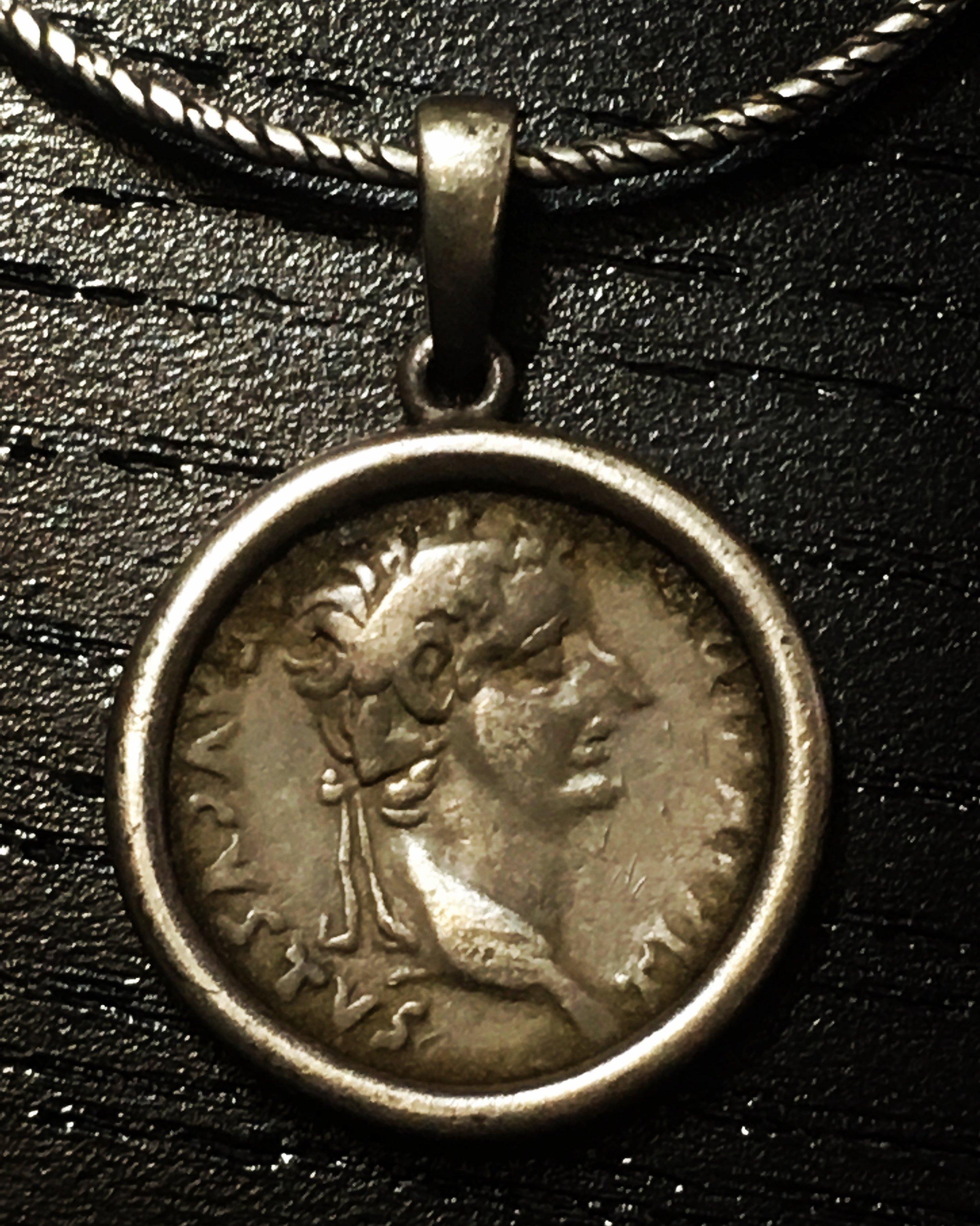 Denarius of Tiberus (AD 14-37)