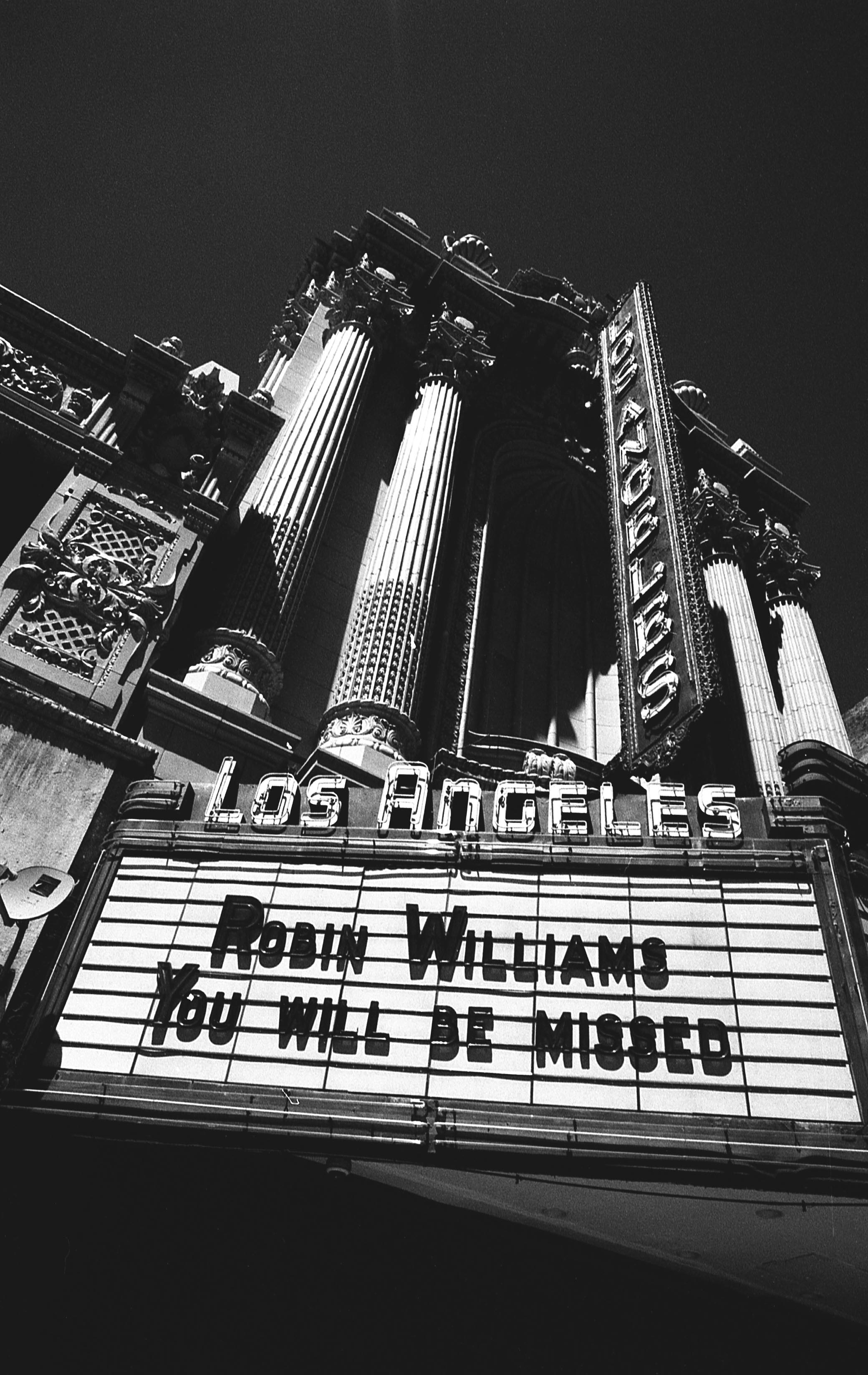 Robin Williams Memorial, Downtown, LA
