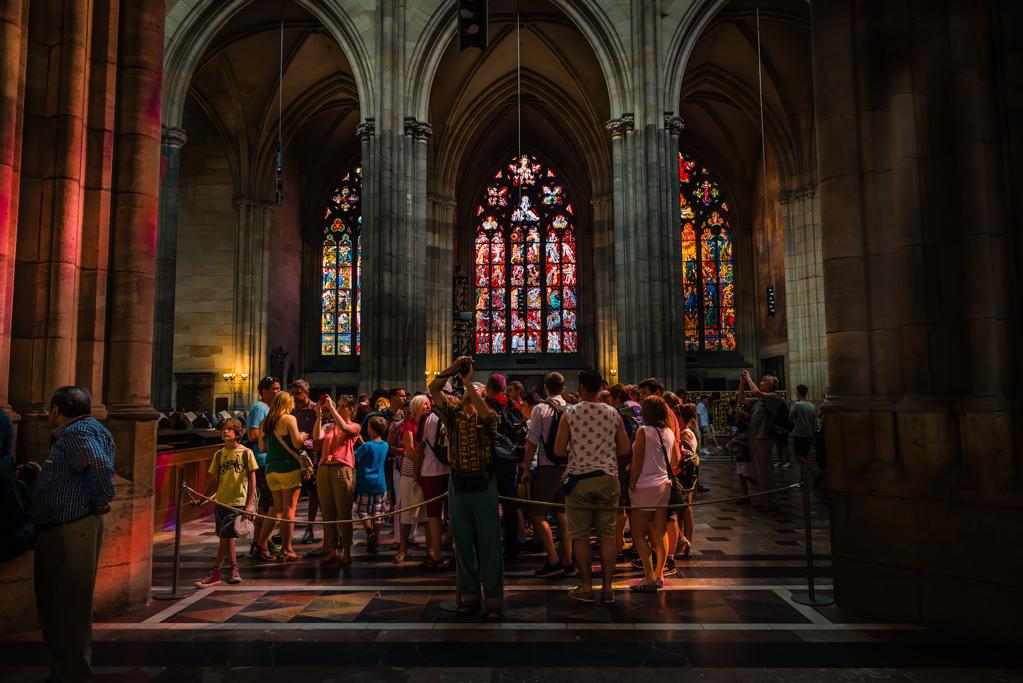 Celestial Light (or Cathedral Disco Lights) Nikon D800 - Nikkor 24-70 f/2.8 @ 24mm f/4
