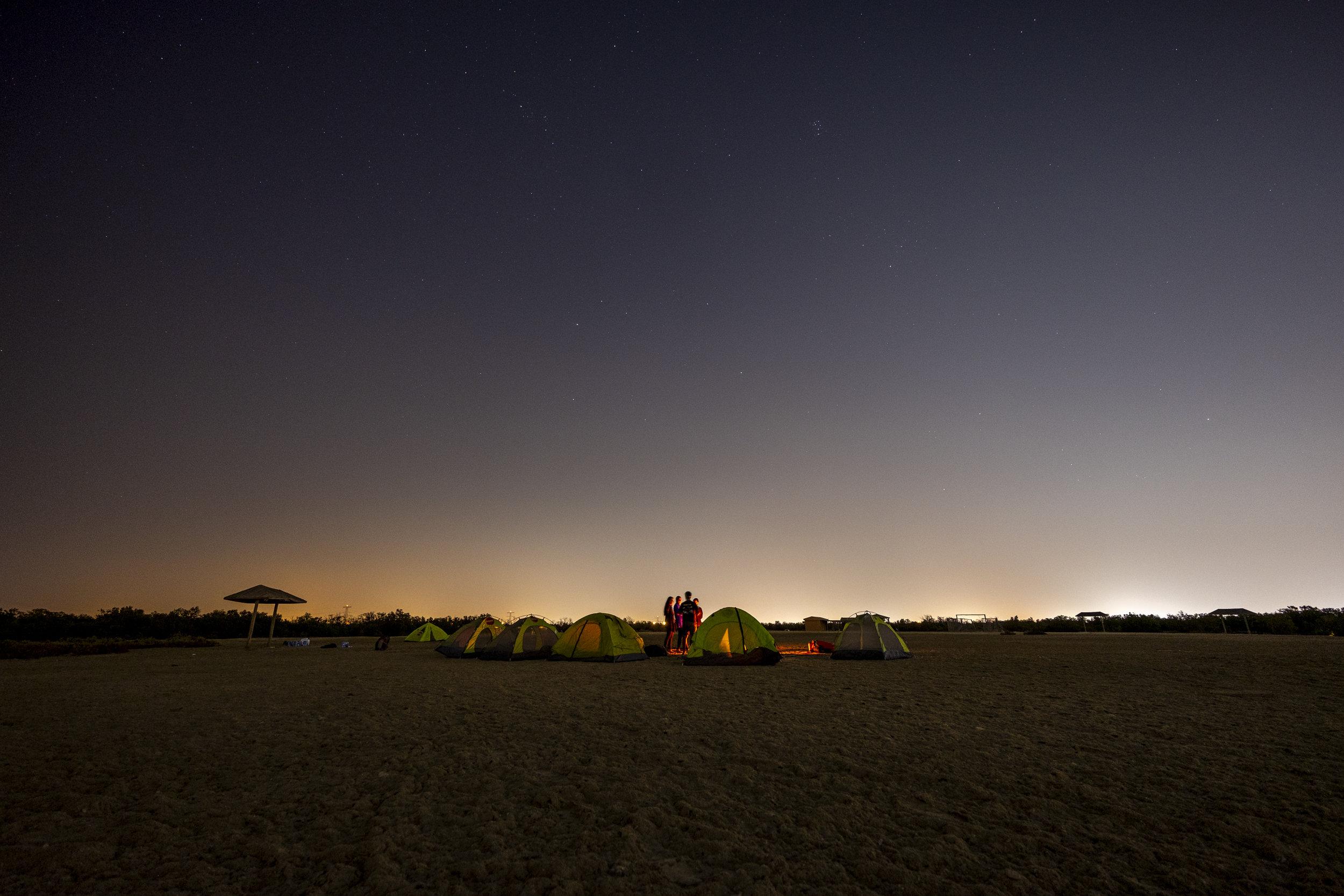 Setting up camp on mangrove island_Abu Dhabi_(c)Oliver Wheeldon.jpg