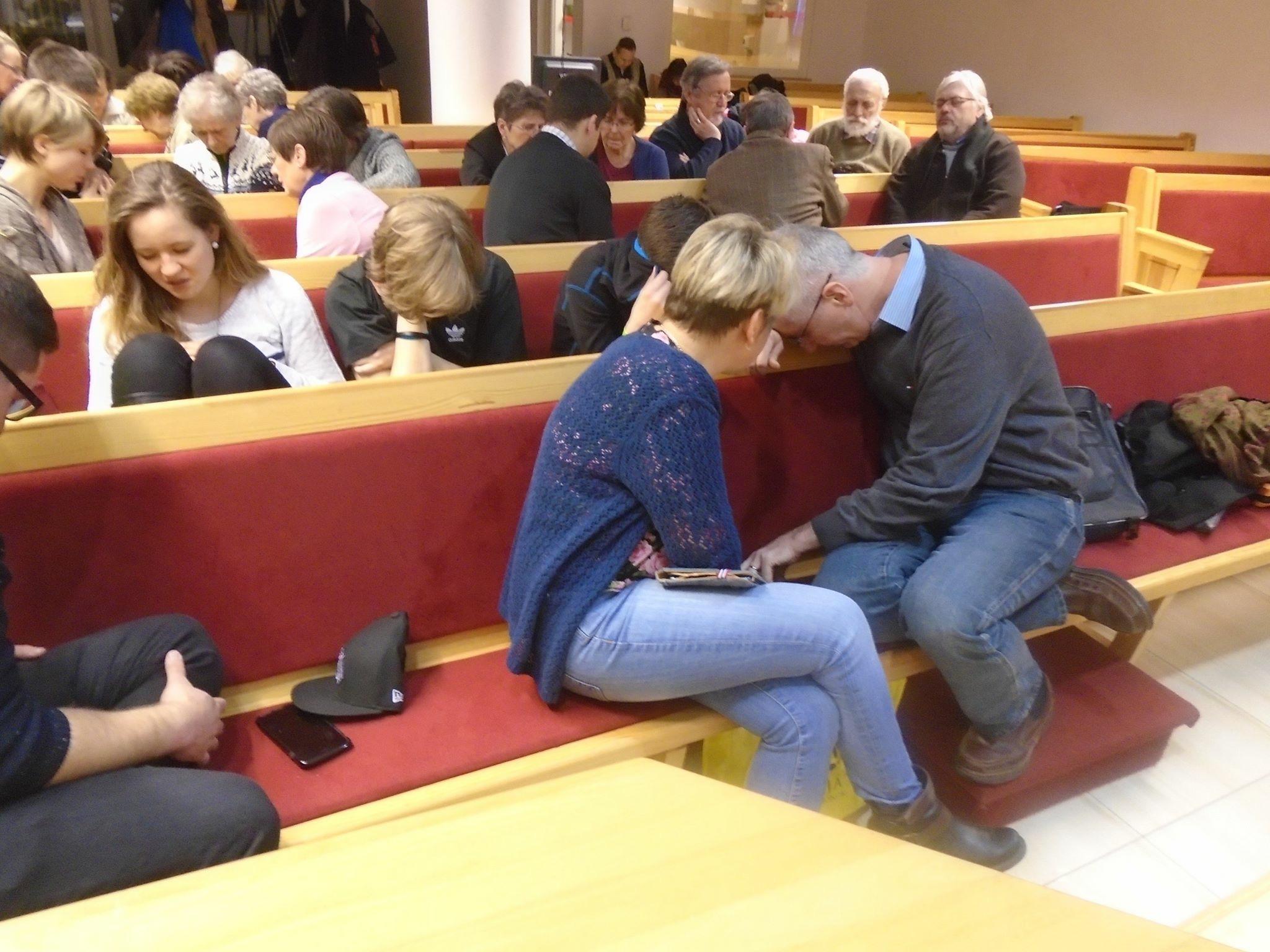 Prayer-event for the release of Andrew Brunson