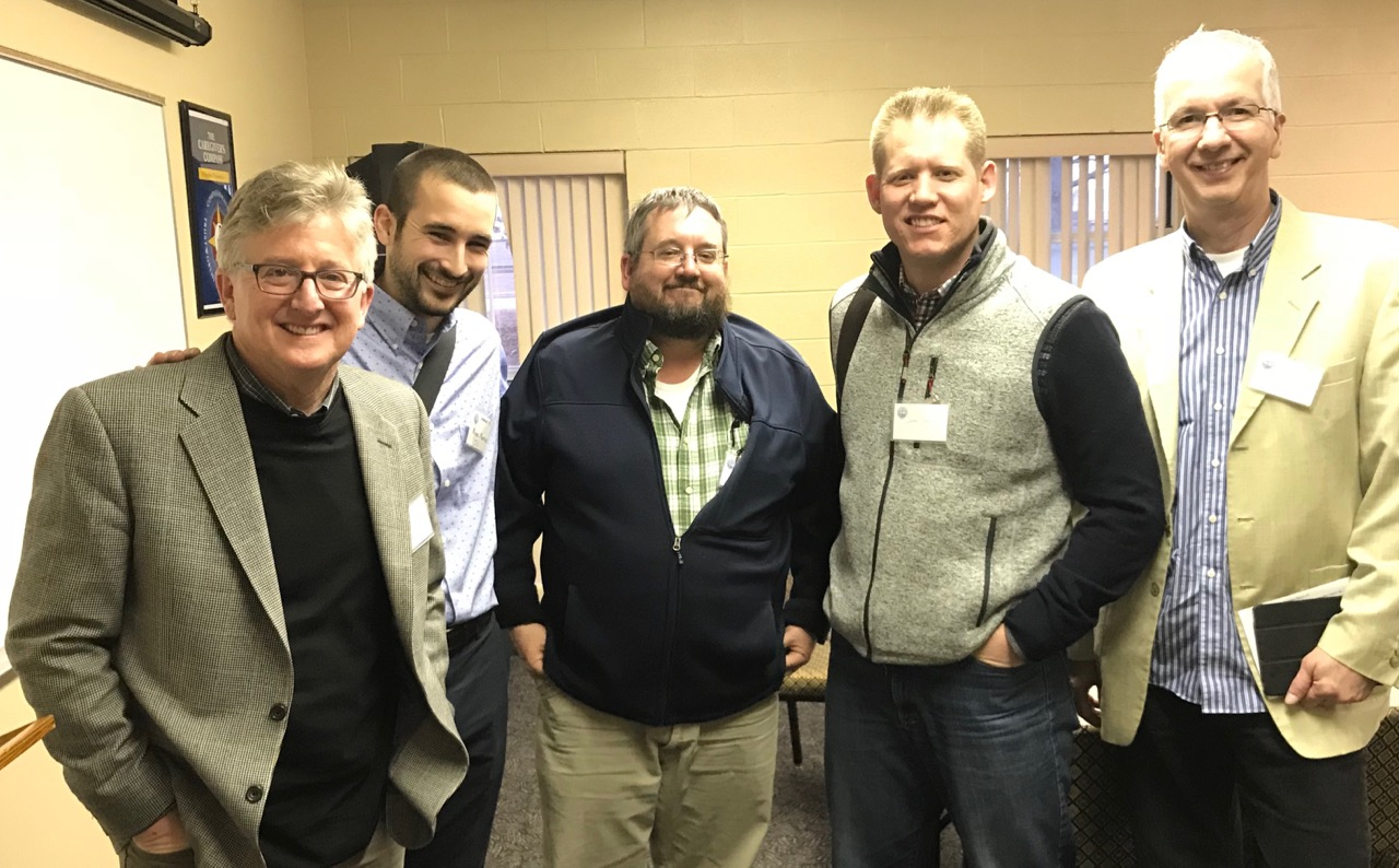 Meeting with EPC leaders to discuss partnering church-planting between EPC and Cru.