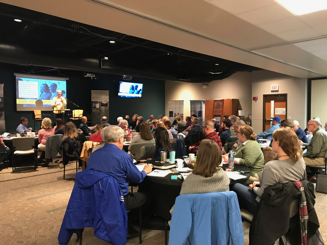 In Lenexa, KS at Westside Family Church we've trained 55 believers to start spiritual conversations where they work, live and play. This coming Sunday Westside Church will host another training offering this opportunity for the whole church community.