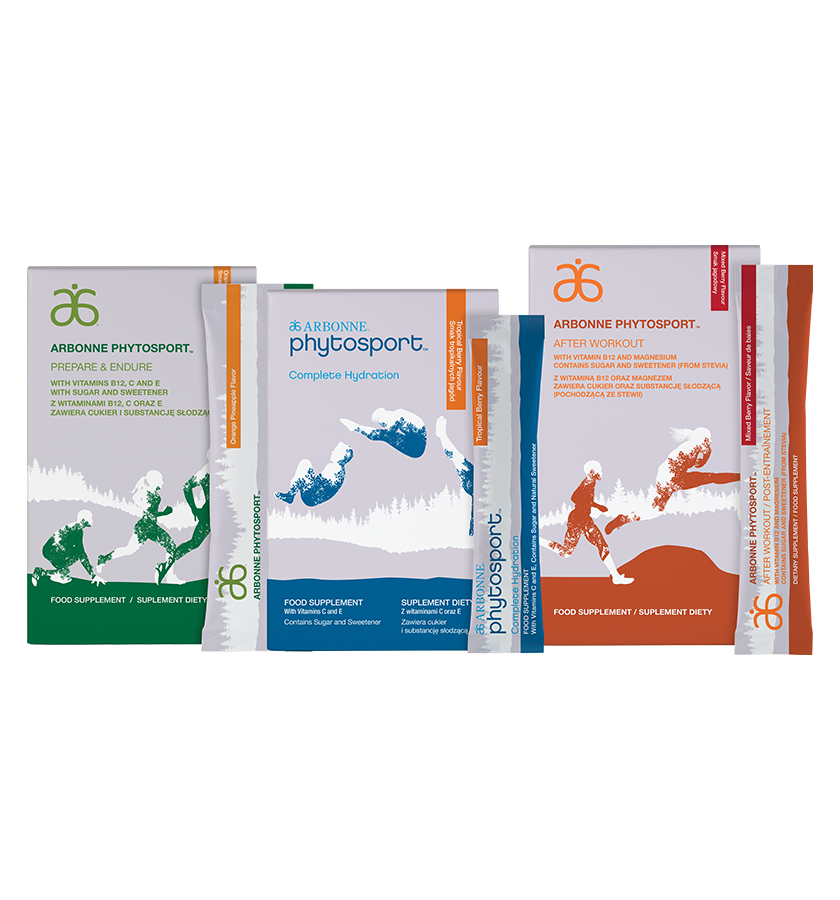 PhytoSport Set (#6273)    Go for the win! The set includes all three PhytoSport products to support sport performance for every level of athlete. Enjoy a 10% discount when you get the set.